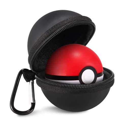 KINGTOP EVA Protective Carrying Case for Nintendo Switch Poke Ball Plus Controller -Black