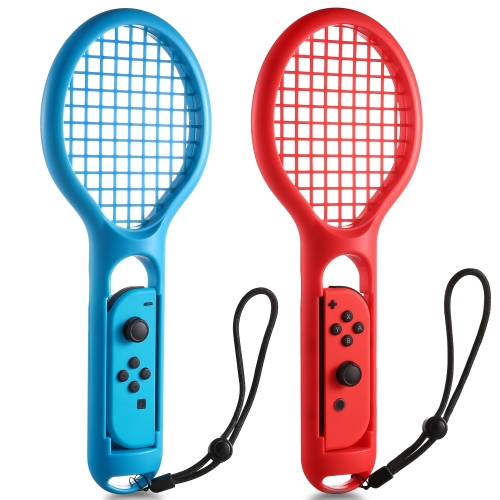 Tennis Racket for Nintendo Switch Joy-Con Controller KINGTOP Twin Pack Tennis Racket for Nintendo Switch Game Mario Tennis Aces